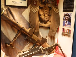 All the artifacts and memorabillia comes from veterans, relatives and military institutions.