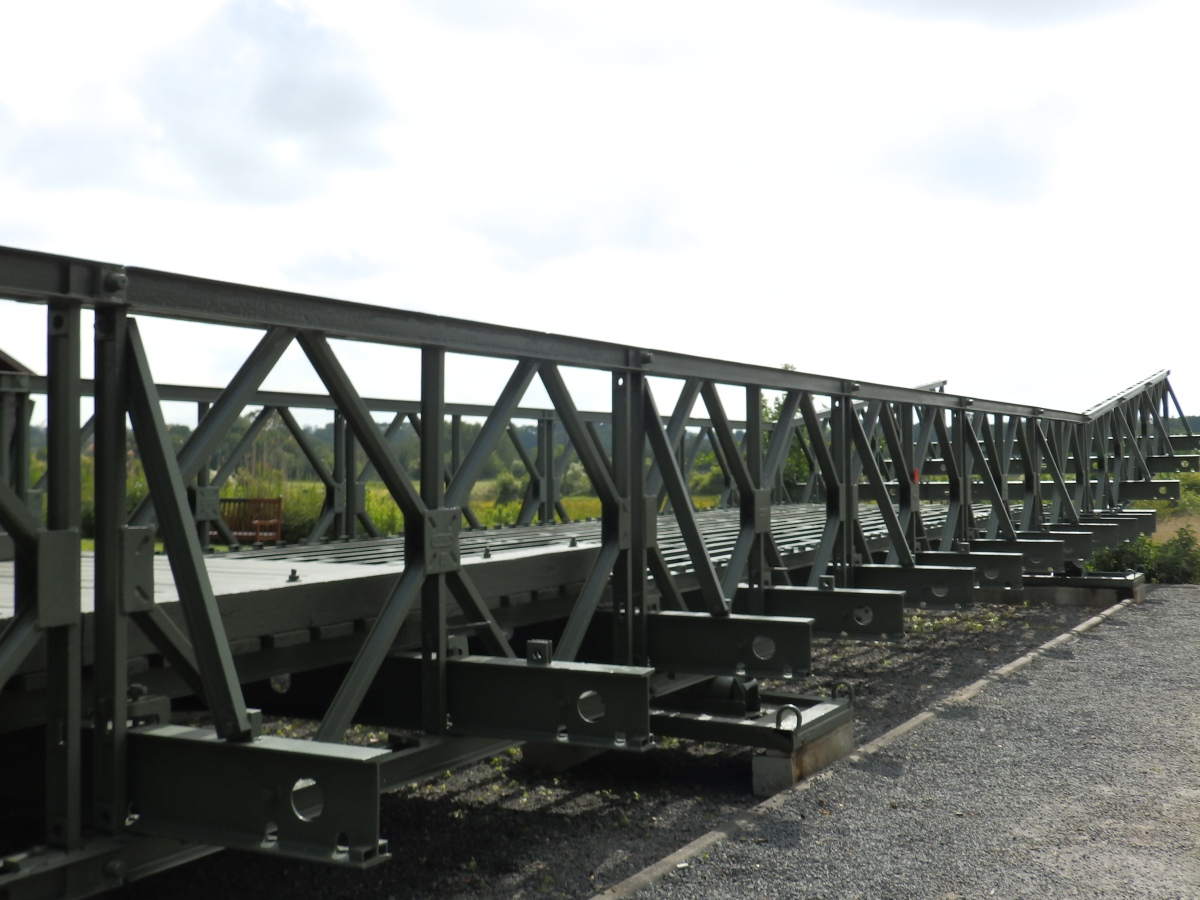 Le Mémorial Pegasus: Bailey Bridge