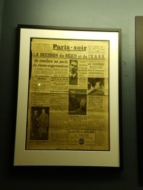 An original newspaper clipping