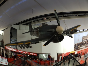 A Hawker Typhoon fighter