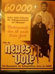 Neues Volk Journal Poster