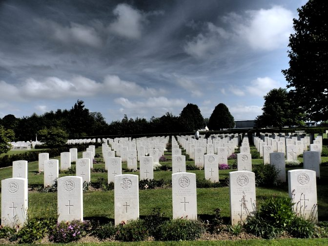 The Bayeux War Cemetery
