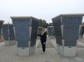 Kate outside the Juno Beach Centre