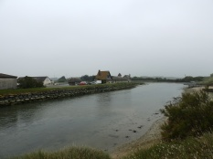 A beautiful port seen just roads away from the Juno Beach Centre