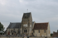 The local church in Montormel