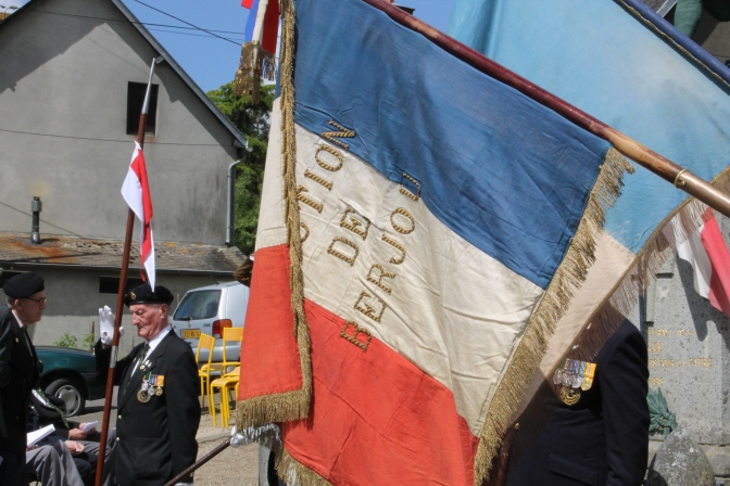 Sherwood Rangers ceremony in Berjou